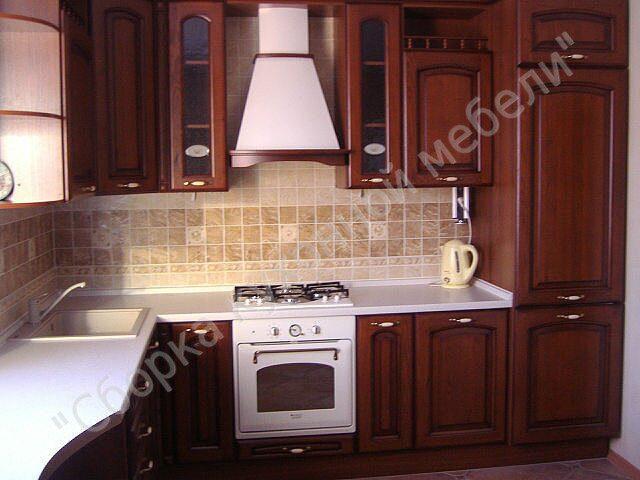 Сборка кухонной мебели мебель для