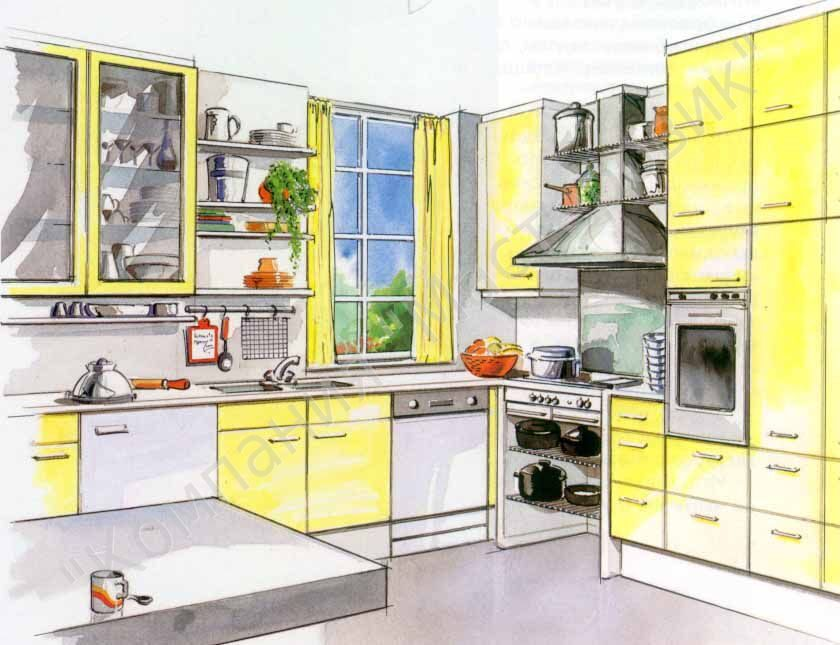При сборке кухни очень важен